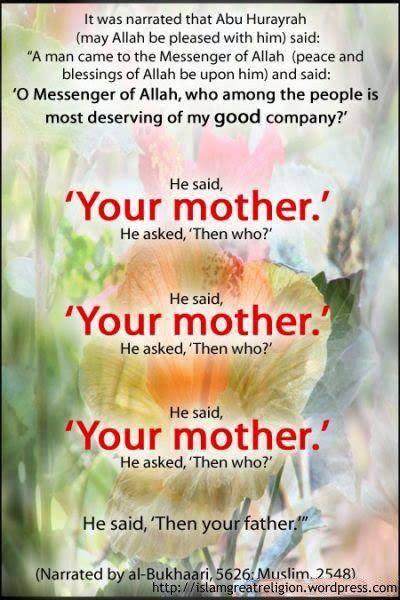 Your Mother - Hadith by Abu Hurayrah