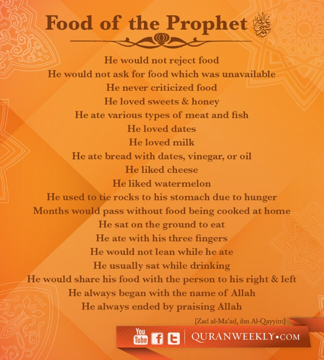 food-of-the-prophet