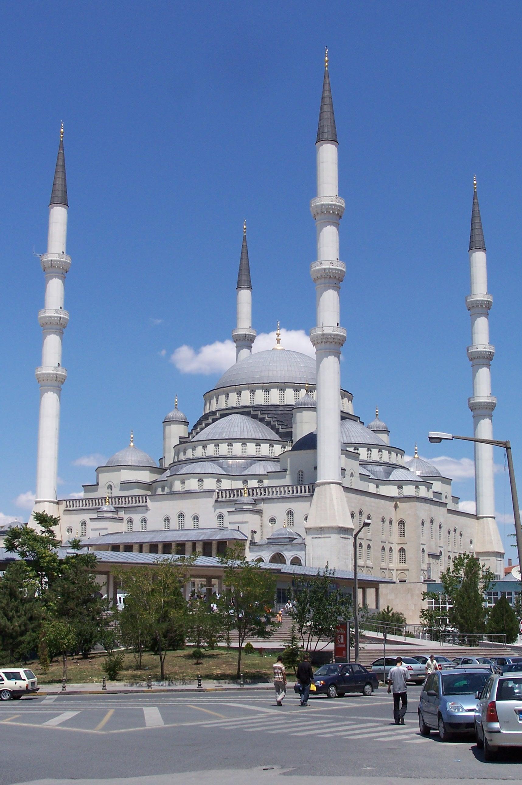 Kocatepe-Mosque-Ankara-Turkey