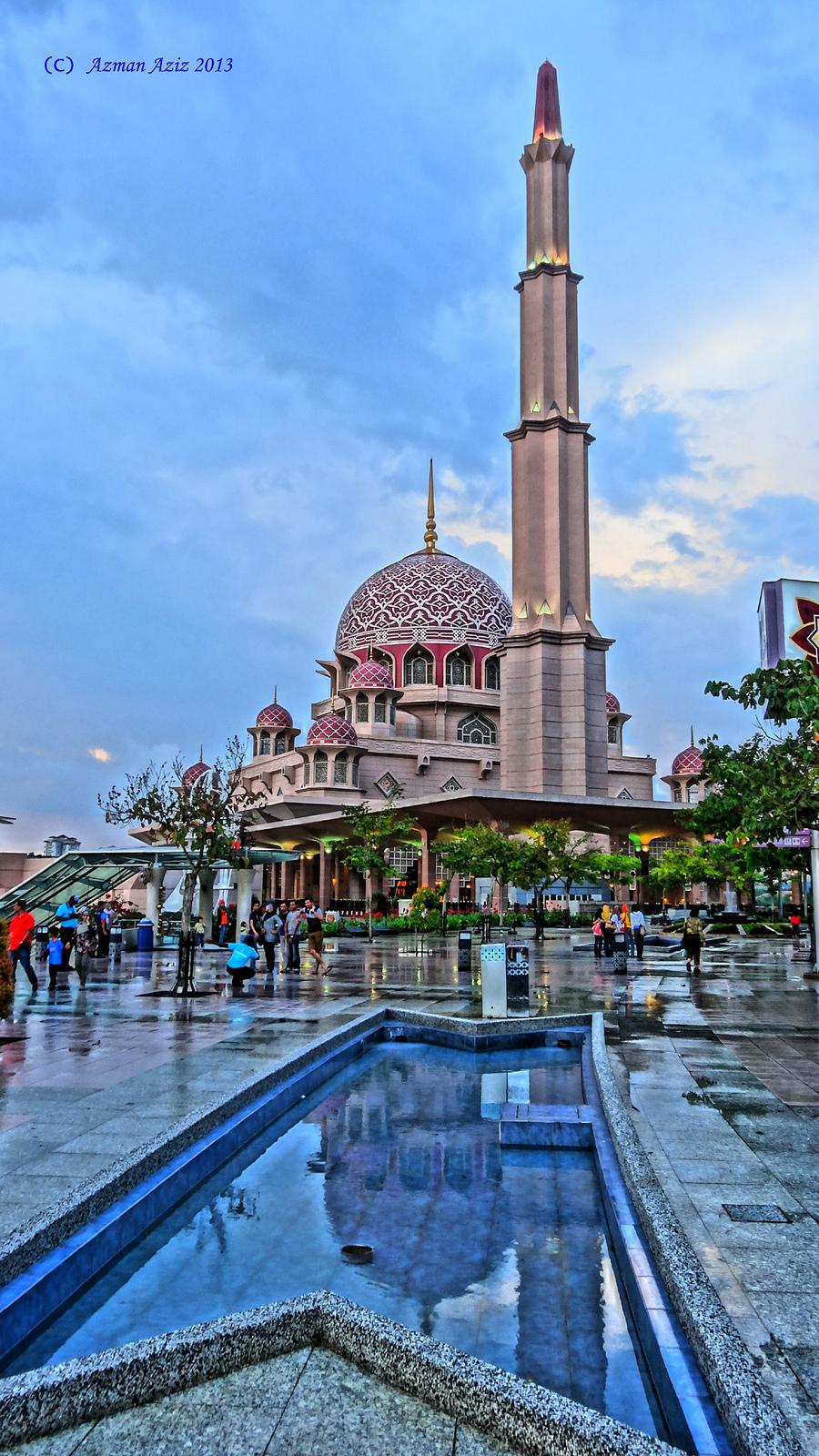 Putrajaya-Putra Mosque