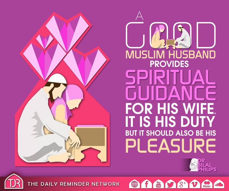 A good Muslim husband
