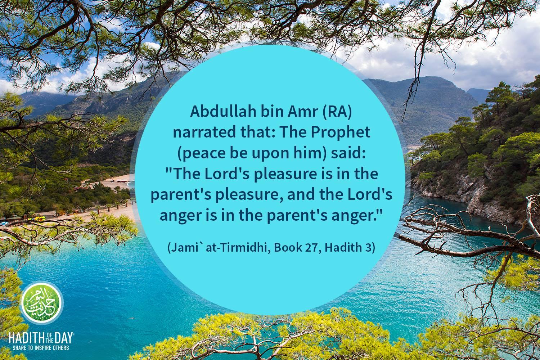 Tirmidhi, book 27 Hadith 3